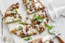 Pizza | Flammkuchen /  Leckeres rund um Pizza und Flammkuchen | Recipes for Pizza