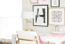 Office Inspo ♥ / cute/chic/pretty office inspo