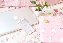 Pink Inspo ♥ / Just pretty pink things, fashion, home decor, flowers, etc. Cus I can't get too much pink in my life, lol