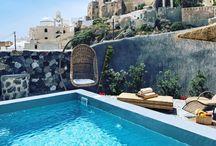 Rock Villas, Emporio, Santorini, / Awesome and relaxing place for holidays in Emporio, Santorini, Greece. Enjoy rock life!