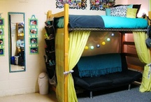 Life in the Halls / Ideas for decorating residence halls and apartments. Tips and tricks for saving space and staying organized. Checklists of what to bring to campus.