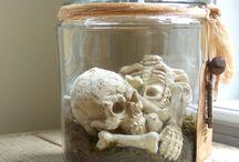 Pienuts Halloween / Halloween craft ideetjes