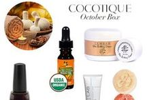Inside the October Box / Get a look at all the products included in the October COCOTIQUE Box! Now available for purchase in the COCOTIQUE Shop.  http://www.cocotique.com/october-2013-cocotique-beauty-box