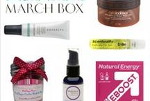 Inside the March Box / by COCOTIQUE