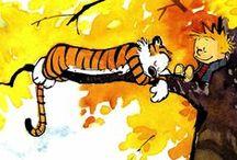Calvin and Hobbes...