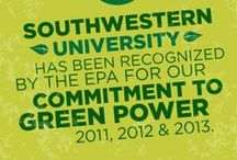Black, Gold & Green / Stories, photos and information about Southwestern's commitment to sustainability.  / by Southwestern University