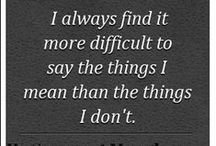 Quotes / Agreeable Quotes