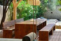 Terrasoverkapping - veranda / Buitenleven, eten, drinken, feesten en ontspannen. Het genieten wordt nog langer onder een veranda of overkapping in je tuin gemaakt door Nederveen Tuinen