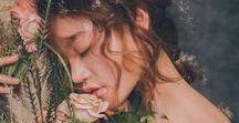 ❥ڿڰۣ-- Flower Child  ❥ڿڰۣ-- /   ❥Let flowers adorn her, though even they know that none can compare to her beauty... the extravagance of her being.❥