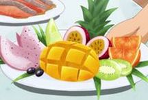 Anime Food / Anime, Animu, Anime food, Animu food, manga, manga food