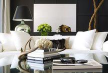 Living rooms / Make Every Room A Living Room - Alexandra Stoddard.