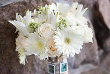 Bridal Bouquets / Bridal bouquets for bridesmaids and brides created by the designers at Sunnycrest Flowers