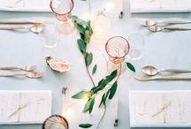 Tisch Deko // Table Decoration