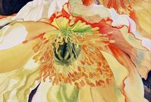 Watercolour Inspirations / Their passion for life is their medium, The Art of Being by Diana Loomans