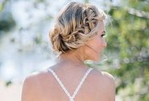 bridal Hairstyle Inspirations / Some hairstyle that I like and some ideas for your romantic wedding on the beach.