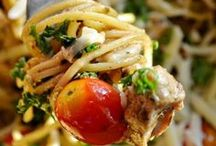 Dreamy Pasta Recipes / Hello Pinners! Just turned this board into a community board. Share the best pasta recipes including chicken, shrimp or other seafood. Some are easy pasta recipes. Some are vegatarian. Pin them all so long as it's a pasta recipe. For invite, comment on my latest pin. DO NOT INVITE OTHERS. DO NOT SPAM.
