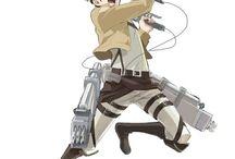 Shingeki no Kyojin/ Attack on Titan/ Ataque a los titanes