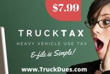 Truck Taxes Online / Pins to tell you about Truck Taxes, 2290 returns, 2290 Amendments, 2290 claims and Motor Trucks which grosses Taxable Gross Weight.