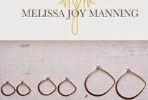 /MELISSA JOY MANNING/メリッサジョイマニング/ / MELISSA JOY MANNING メリッサジョイマニング ピアス ネックレス ハンドメイド