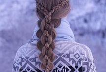 """Hair style ideas / """" Egy gyönyörű haj a legszebb kiegészítő a világon. """""""