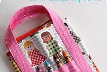 Colouring Tote Bag for kids