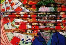 Artist, F. Hundertwasser / Friedensreich Hundertwasser
