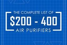 $200 - 400 Air Purifiers / The compilation list of moderately priced air purifiers between $200 - 400