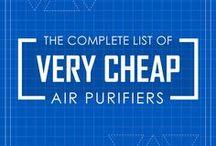 Less than $50/ Very Cheap Air Purifiers / The compilation list of very cheap air purifiers price less than $50