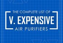 Very Expensive Air Purifiers / The compilation list of very expensive air purifiers above $500.