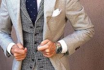 Menswear Inspiration / Pin all types of menswear. Shirts, pants, vests, blazers, jackets, ties, accessories and anything else that is inspiring.