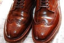 Great shoes / Because you can tell a lot about a man by his shoes.