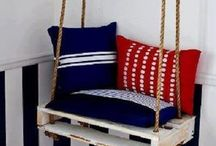 Pallet Galore! / What can you create with a pallet other than a nap!