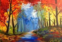 Cocktails & Canvas Paintings  / Come to Alpine Arts Center for our fun Cocktails and Canvas evenings! Click the link below to view our upcoming calendar of paintings! http://www.alpineartscenter.org/upcoming-events