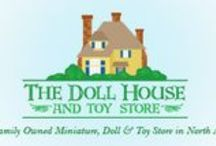 Cookie Recipes / The Doll House & Toy Store is you old-fashioned specialty toy store.  So, Sam & I decided that with the hot weather we were going to have cold water for you along with homemade cookies.  Here are the recipes!