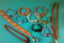 Bijoux all'uncinetto / Orecchini, collane, braccialetti