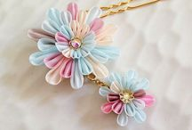 Kanzashi Flowers & Bows