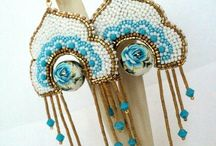Bead Embroidery - Rings & Earrings