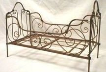 Cast iron cribs