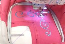 Embroidery - machine