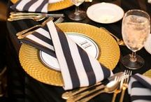Napkin Folds / Because who wants a plain, triangle folded napkin at your event or family gathering?!