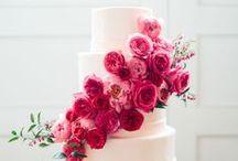 Kwietne Torty Weselne / Flower Wedding Cakes / Kwiaty jako ozdoba weselnych tortów - jeden pomysł, a jak różne efekty!