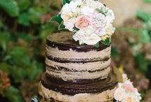 Torty Weselne Shabby Chic / Wedding Cakes / Alternatywna Wersja Dopracowanych Tortów Weselnych - Ciasta Boho