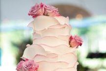 Różowy Tort Weselny / Pink Wedding Cake