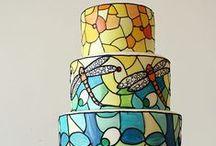 Modern Wedding Cake / Nowoczesne Wzory w Dekoracji Tortów