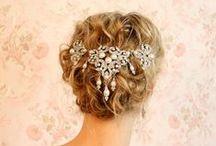 Ozdoby Włosów / Wedding Hair Accessories / Alternatywa dla welonów i kwiatów, czyli delikatne i bajkowe ozdoby ślubnych fryzur!