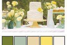 Paleta Ślubnych Kolorów / Wedding Palette / Zestawienia Pasujących Kolorów, dla Stworzenia Idealnego Weselnego Nastroju!