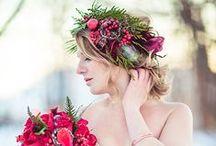 Kwiaty we Włosach / Wedding Flower Crowns / Kwiaty jako Ozdoba Ślubnej Fryzury, Wianki, Wiązanki i Stroiki!