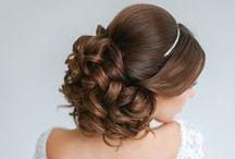 Fryzury / Hair / Fryzury idealne na Ślub i Wesele!