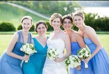 Bridesmaid Dresses / Bridesmaid dresses and bridal party portraits shot by Boston's BKB & CO Photography