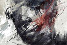 - paint + canvas -